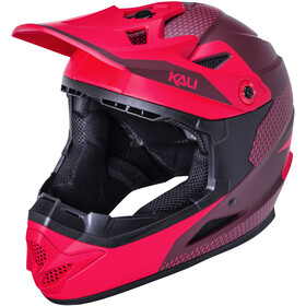 Kali Zoka Dash Helm Jugend matt red/burgundy